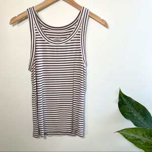 American Eagle soft & sexy ribbed striped tank